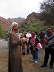 Murad explaining about farm